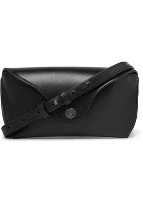 Álvaro - Apollo Leather Sunglasses Case - Men - Black