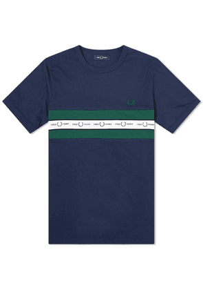 Fred Perry Authentic Taped Chest Logo Tee