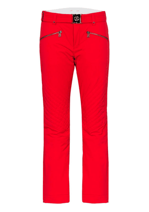 Bogner Franzi2 belted ski trousers - Red