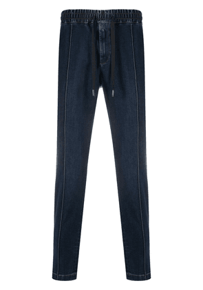Dolce & Gabbana tapered track pant jeans - Blue