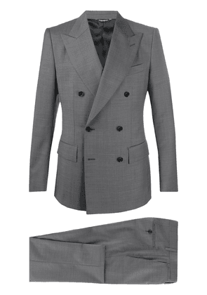 Dolce & Gabbana two-piece double-breasted suit - Grey