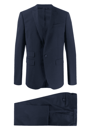 Les Hommes fitted two-piece suit - Blue