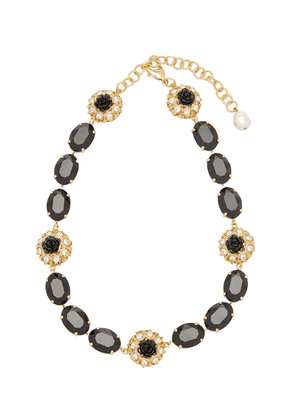 Dolce & Gabbana Collana Brass and Resin Necklace