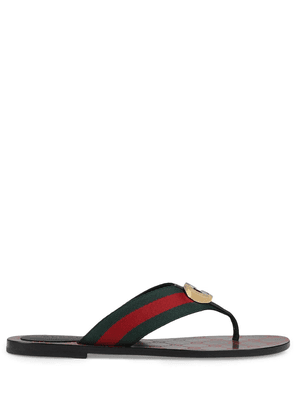 Gucci GG Web sandals - Red