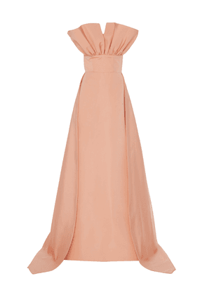 Christian Siriano Pleated Bodice Gown