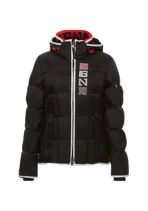 Bogner Sport Giana Quilted Logo-Print Shell Jacket