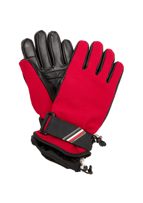 Moncler Genius 3 Moncler Grenoble Lambskin Paneled Ski Gloves