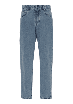 AMI Low-Rise Tapered-Leg Jeans