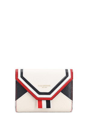 Envelop Grained Leather Compact Wallet