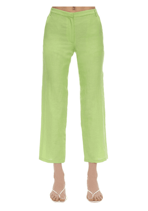 Cape Silk & Linen Pants