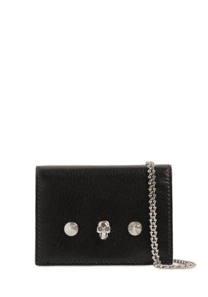 Leather Wallet W/chain