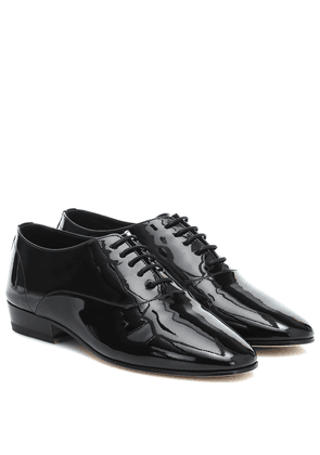 Hopper patent leather Derby shoes
