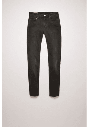 Acne Studios Climb Used Blk Color  Mid-rise skinny jeans