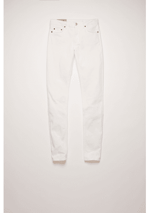 Acne Studios Climb White3 Color Mid-rise skinny jeans