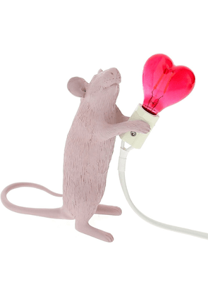 Seletti Valentine's Day Mouse lamp Love Edition - PINK