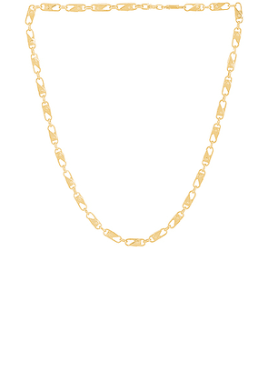 Ambush Sling Snap Necklace in Gold - Metallic Gold. Size all.