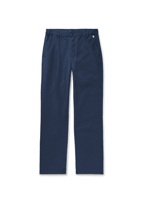 Armor Lux - Navy Cotton Trousers - Blue