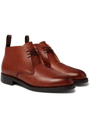 Cheaney - Jackie Full-grain Leather Boots - Brown