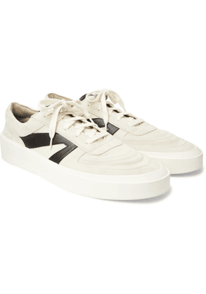 Fear of God - Suede, Leather and Canvas Sneakers - Men - Neutrals