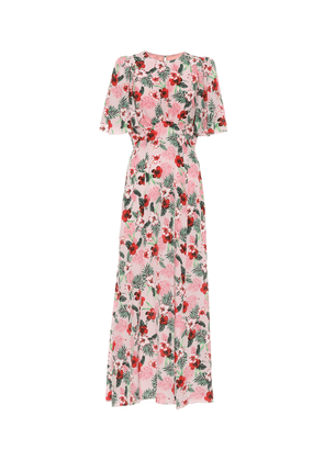 Exclusive to Mytheresa – Floral silk midi dress