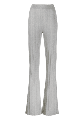 Derek Lam 10 Crosby Rasia Rib Knit Pant - LIGHT GREY