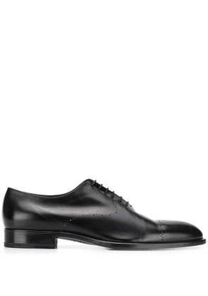 Fratelli Rossetti perforated Oxford shoes - Black
