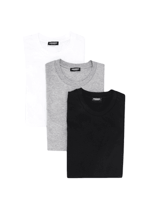 Dsquared2 logo crew-neck T-shirts - 3 pack - Black