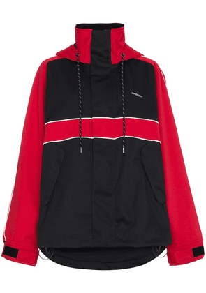 Ambush bi colour sport jacket - Black