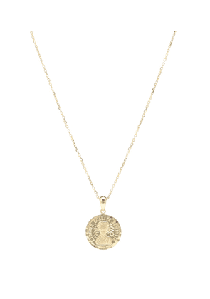 Louise d'Or Coin 18kt gold necklace