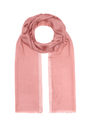 Aria cashmere and silk scarf