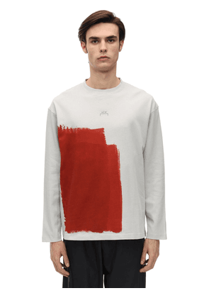 Block Paint Cotton Jersey T-shirt