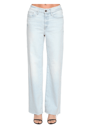 California Wide Leg Cotton Denim Jeans