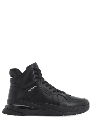 B-ball Leather High Top Sneakers
