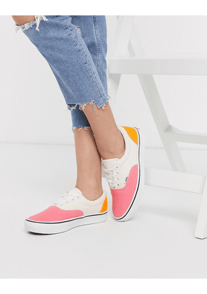 Vans ComfyCush Era colour block trainers Pink | MILANSTYLE.COM