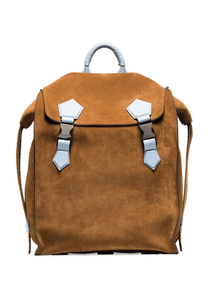 Dolce & Gabbana reversible buckled backpack - Yellow