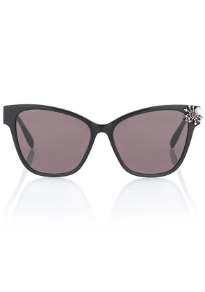 Spider embellished cat-eye sunglasses
