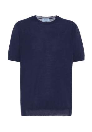 Virgin wool T-shirt