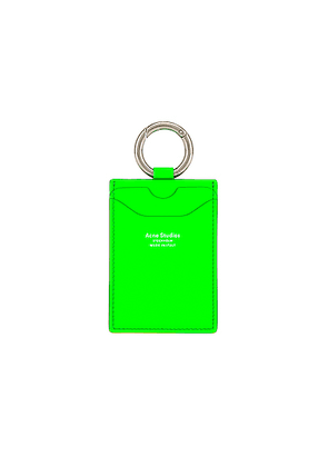 Acne Studios Lanyard in Fluo Green - Green. Size all.