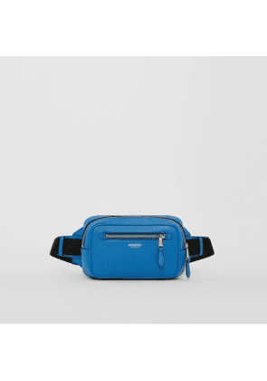 Burberry Grainy Leather Bum Bag, Blue