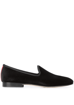 Del Toro Shoes classic plain slippers - Black