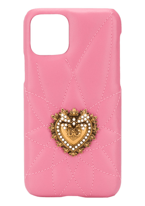 Dolce & Gabbana iPhone 11 Pro Devotion case - PINK