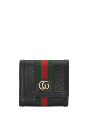 Gucci Ophidia GG Web wallet - Black