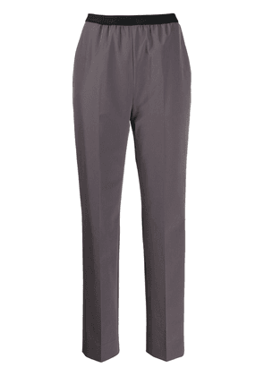 Maison Margiela high-waisted trousers - Grey
