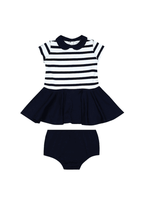 Baby dress and bloomers set
