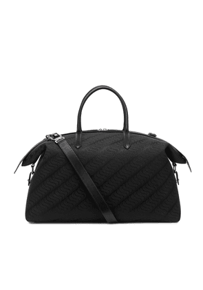 Smythson 'S' Monogram Zip Guard Travel Bag
