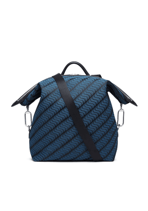 Smythson 'S' Monogram Large Transformable Backpack
