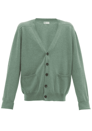 Connolly - Art V-neck Cashmere Cardigan - Mens - Green