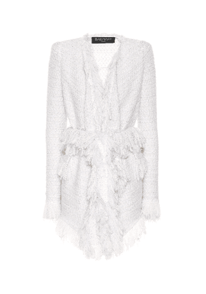 Exclusive to Mytheresa – Metallic bouclé jacket