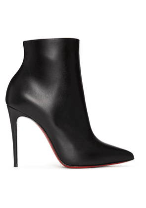 Christian Louboutin Black So Kate 100 Boots