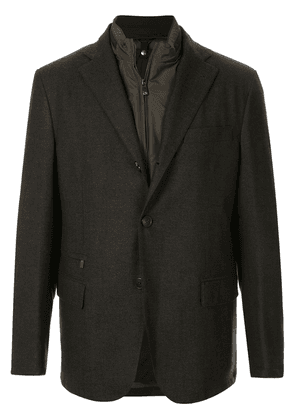 Corneliani slim-fit blazer - Grey